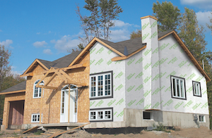 Vycor enV-S from Grace is an acrylic membrane that creates a continuous barrier against water and air intrusion.