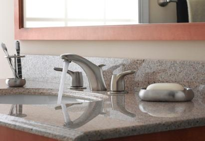 Cleveland Faucet Group Has A New Line For The Kitchen And Bath: Baystone.  This Transitional Suite Features Several New Faucet Configuration Options,  ...