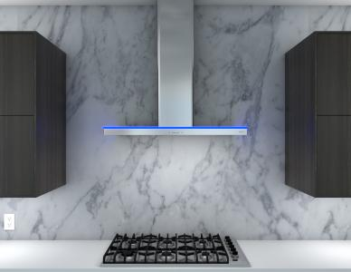 Luce Wall Ventilation Hood by Zephyr