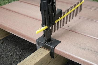 decking, deck building tools, fastener, simpson strong-tie