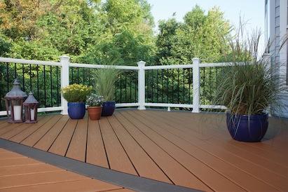 Trex Transcend Porch system